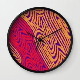Mop Strings Abstract Wall Clock