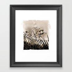 art in the sand 2 Framed Art Print