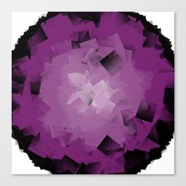 purple tissue Canvas Print