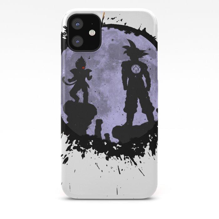 Dragon Ball Goku Vs Vegeta Iphone Case By Makaiworld