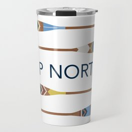 Up North Oars Travel Mug