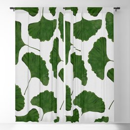 Ginkgo Leaf II Blackout Curtain
