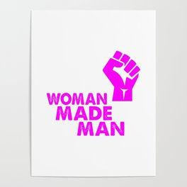 woman made mad funny saying Poster