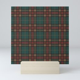 Tartan fabric, Scottish cloth Mini Art Print