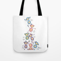 Dominance Hierarchy Tote Bag