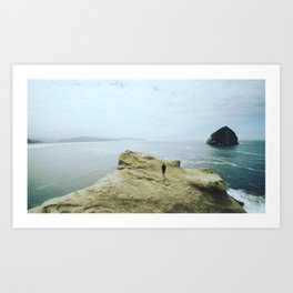 Cape Kiwanda Solitude Art Print