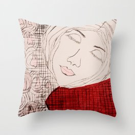 Dreaming of the Tooth Fairy Throw Pillow