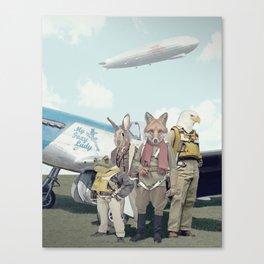 SKYFOX (The Starfox Prequel). Canvas Print