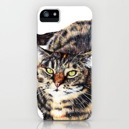 Kitty Cat Chili iPhone Case