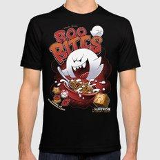 Boo Bites Black Mens Fitted Tee MEDIUM