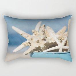 Bucket Full os Starfish Rectangular Pillow