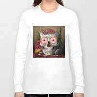 flora Long Sleeve T-shirts featuring Flora by SugarSugar
