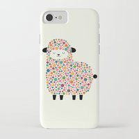 sheep iPhone & iPod Cases featuring Bubble Sheep by Andy Westface