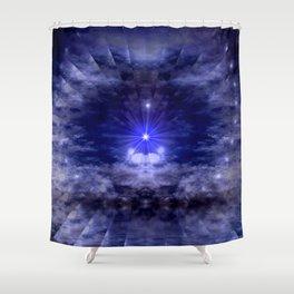 Fractal Illusion Shower Curtain