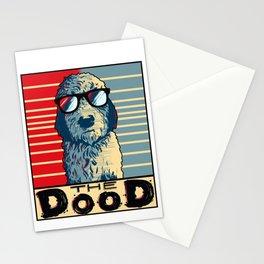 Funny Goldendoodle Gift Golden Doodle The Dood Print Stationery Cards