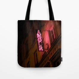 Oh l'amour indolence Tote Bag