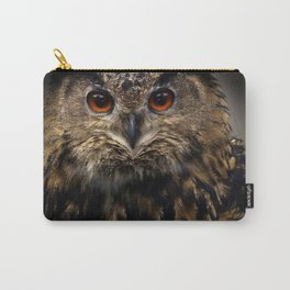 The old eagle owl Carry-All Pouch