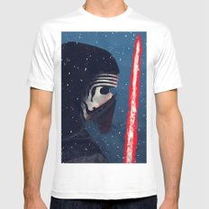 Kylo (Knight of Ren) MEDIUM Mens Fitted Tee White