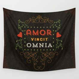Love Conquers All Wall Tapestry