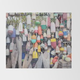 Buoys Throw Blanket