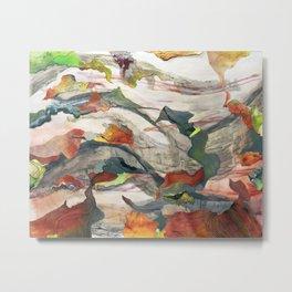 Dream Mountain Landscape Metal Print