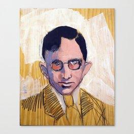 1935 Killed Huey Long (Carl Weiss) Canvas Print
