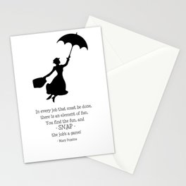 Mary Poppins - A Game Stationery Cards