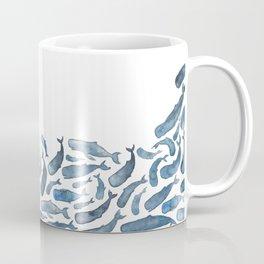 Whale Wave.  Coffee Mug