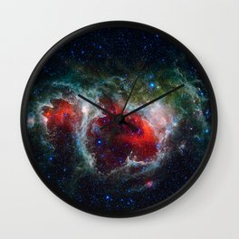 Soul Nebula Wall Clock