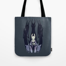 Mad Hare Moon Tote Bag