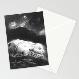 """Odilon Redon """"When Life was Awakening in the Depths of Obscure Matter"""" Stationery Cards"""