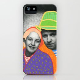 The Colour Theory Couple iPhone Case