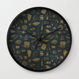 Supernatural - Blue Wall Clock