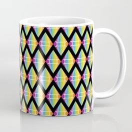 Abstract [RAINBOW] Emeralds pattern Coffee Mug