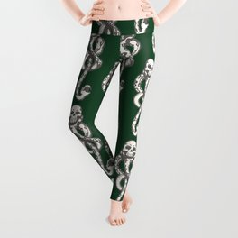 Dark Mark - Green Leggings