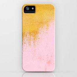 Gold Rush - Pink iPhone Case