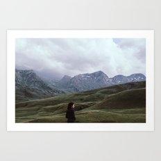 mountain dreamer Art Print