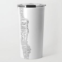 New York City Neighborhoods Travel Mug