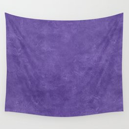 Ultra Violet Oil Pastel Color Accent Wall Tapestry