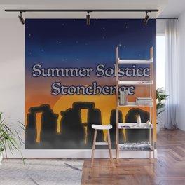 Summer Solstice Stonehenge Wall Mural