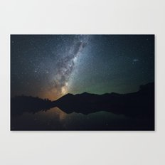 The core of the milky way Canvas Print