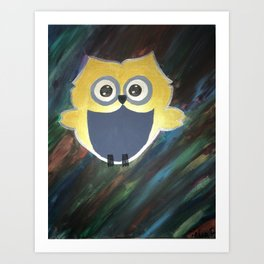 Owl Who Art Print