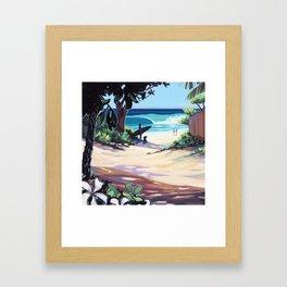 Ehukai Afternoon Framed Art Print