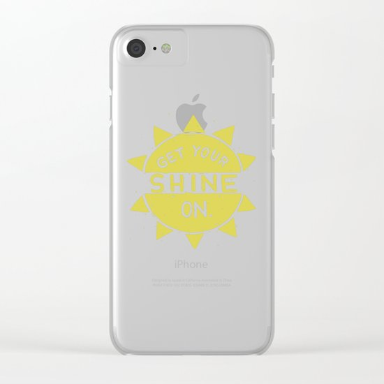 SH/NY Clear iPhone Case