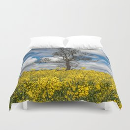 Sea of Yellow Duvet Cover