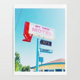 Mountain View Motel Poster