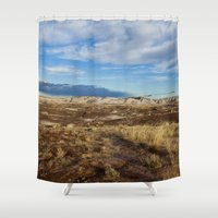 arizona Shower Curtains featuring Arizona by Ian Bevington