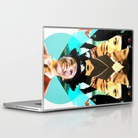 mary poppins Laptop & iPad Skins featuring Molly Poppins by Austin Collins