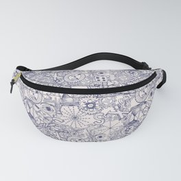 Grundy Toile of Many Parts Fanny Pack