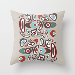 Tales from the iglu Throw Pillow